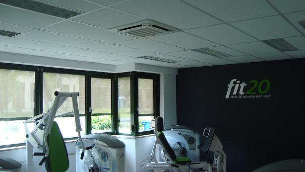 Airconditioning bij Fit20
